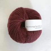 Knitting for Olive Double Soft Merino, Claret