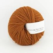 Knitting for Olive Double Soft Merino, Burnt Orange