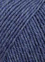 Lang Merino 120, blå 0234
