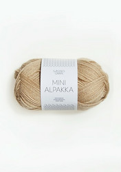 Sandnes Mini Alpakka, chinos beige 2531