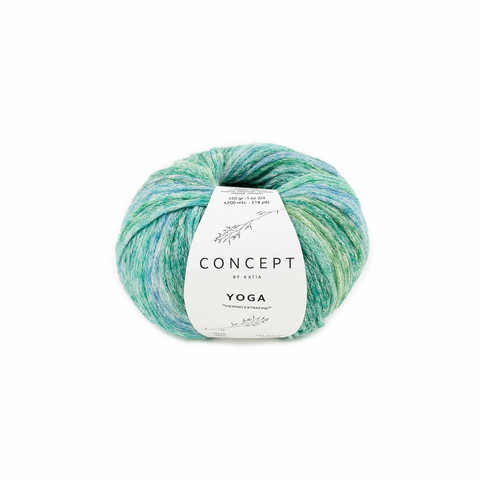 Concept by Katia,Yoga, 205 green-blue