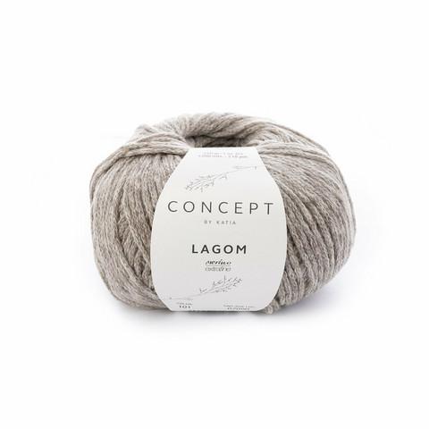 Concept by Katia, Lagom, 101 grey-beige