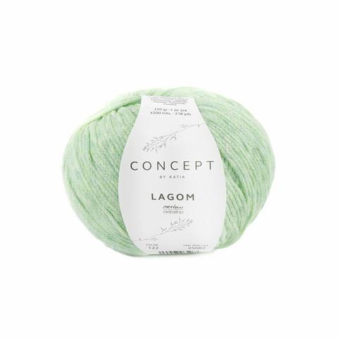 Concept by Katia, Lagom, 122 pastel green