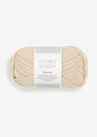 DOUBLE SUNDAY Petite Knit, Almond, 2511