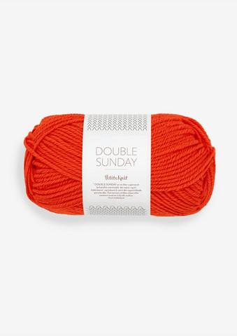 DOUBLE SUNDAY Petite Knit, That orange feeling, 3819