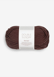 DOUBLE SUNDAY Petite Knit, Coffee Bean, 4081