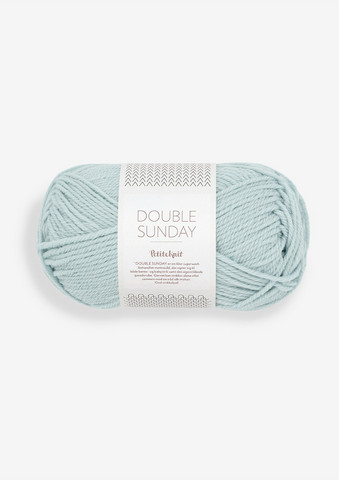 DOUBLE SUNDAY Petite Knit, Pale Blue, 5930
