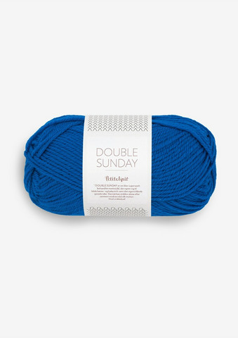 DOUBLE SUNDAY Petite Knit, Electric Blue, 6046