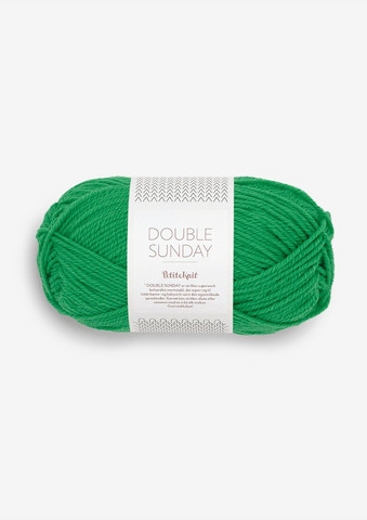 DOUBLE SUNDAY Petite Knit, Statement Green, 8236