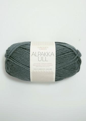 Alpakka Ull, petrolium 7572