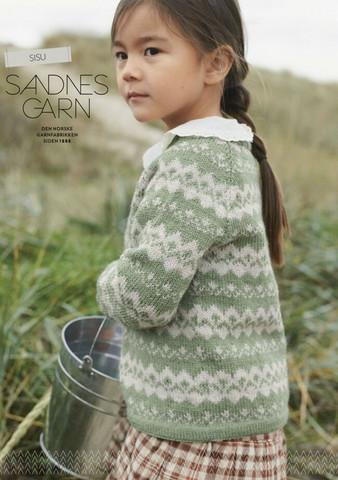 Sandnes mönsterhäfte 2101 Sisu