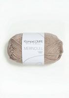 Sandnes KlompeLompe merinoull, beigemelerad 2650