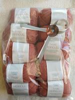 Löytönurkka: Sandnes Tynn Merinoull 10 kpl, 3834 vaalea terrakotta