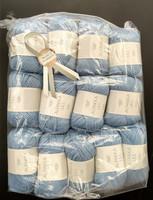 Fyndhörna: Sandnes Alpakka Ull 13 st, ljusblå 6013