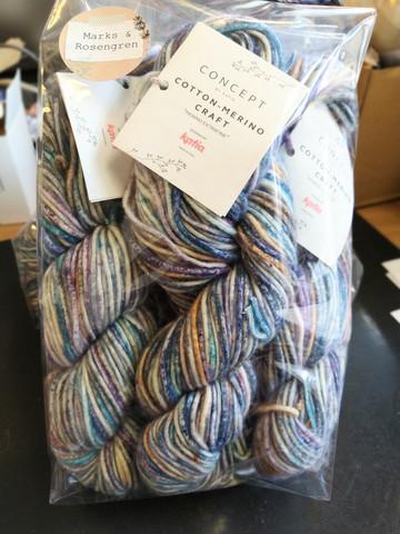 Fyndhörna: Katia Cotton-Merino Craft 5 st, färg 204