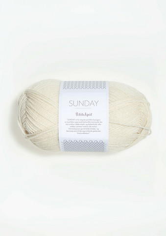 SUNDAY Petite Knit, whipped cream 1012