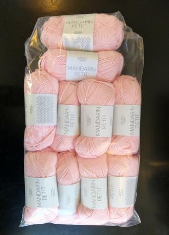 Löytönurkka: Sandnes Mandarin Petit 10 kpl, roosa 4301