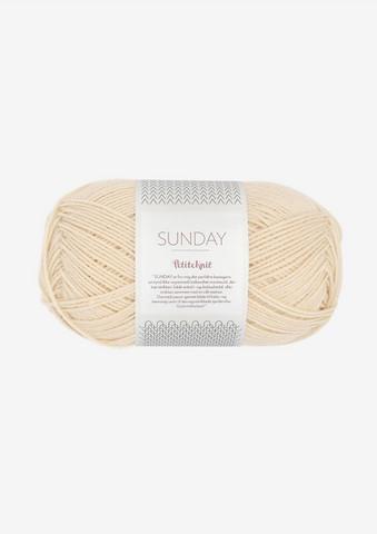 SUNDAY Petite Knit, almond 2511