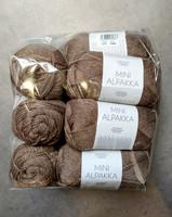 Löytönurkka: Sandnes Mini Alpakka 10 kpl, tummanbeige 3151