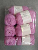 Fyndhörna: Sandnes Mini Alpakka 10 st, rosa 4715
