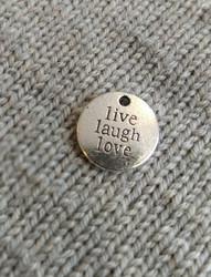 Live Laugh Love-riipus, hopea