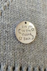 Love you to the moon-riipus, pyöreä