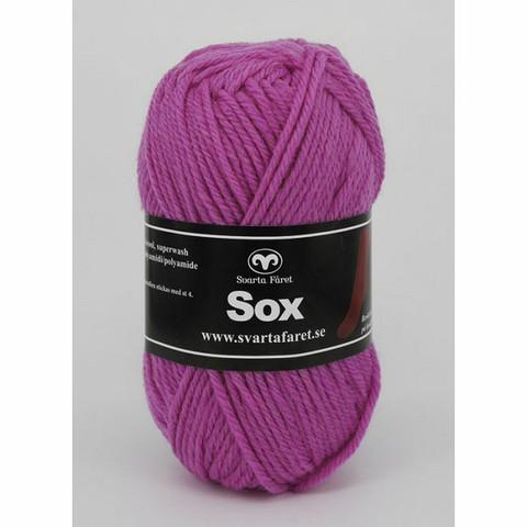 Svarta fåret, Sox, tumma roosa 243