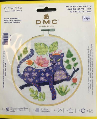 DMC Broderipaket 15cm Beautiful panther