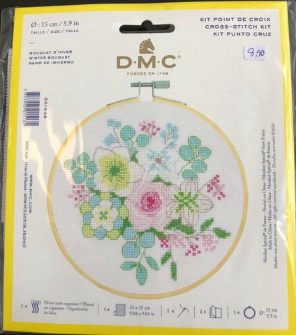 DMC Broderipaket 15cm Winter bouquet