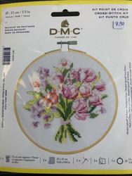 DMC Kirjontapaketti 15cm Spring bouquet