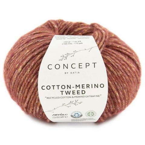 Concept By Katia, Cotton-Merino tweed, color 500