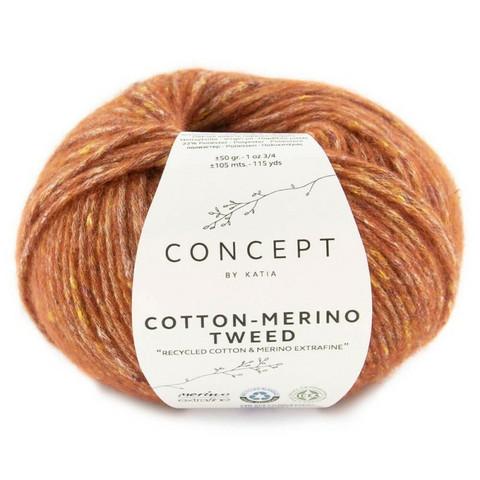 Concept By Katia, Cotton-Merino tweed, color 501