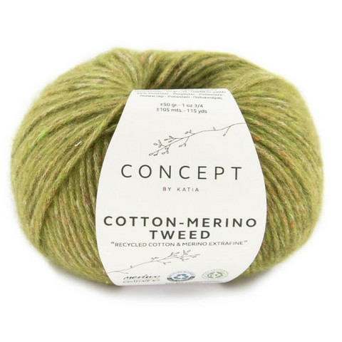 Concept By Katia, Cotton-Merino tweed, color 502