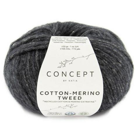Concept By Katia, Cotton-Merino tweed, color 503