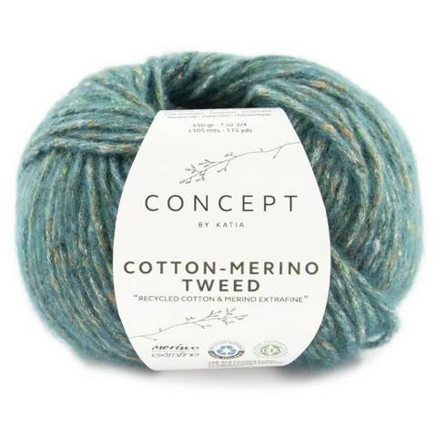Concept By Katia, Cotton-Merino tweed, color 504