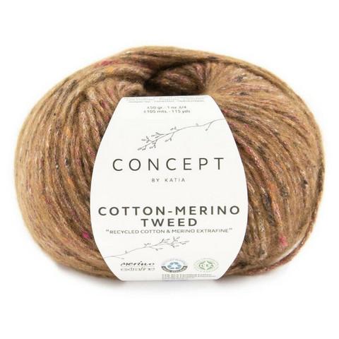 Concept By Katia, Cotton-Merino tweed, color 505