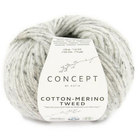 Concept By Katia, Cotton-Merino tweed, color 506