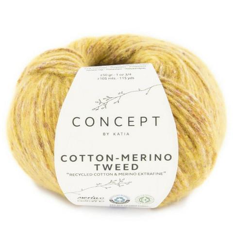Concept By Katia, Cotton-Merino tweed, color 507