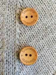 Storebror puunappi,  18 mm