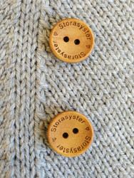 Storasyster puunappi,  18 mm