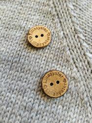 Lillasyster kookosnappi, 15 mm