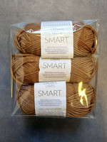 Fyndhörna: Sandnes Smart 3 st, bränt gulbrun 2544