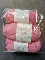 Fyndhörna: Sandnes Mandarin Petit 3 st, roosa 4314