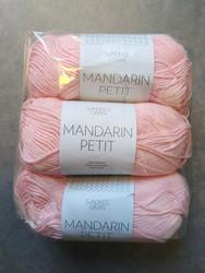 Fyndhörna: Sandnes Mandarin Petit 3 st, roosa 4301