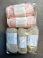 Fyndhörna: Sandnes Mandarin Petit 5 st, rosa+beige