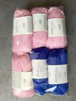 Fyndhörna: Sandnes Lanett 6 st, rosa+blå