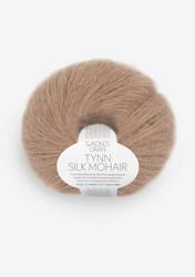 Tunn Silk Mohair, ljust ekollon 3041