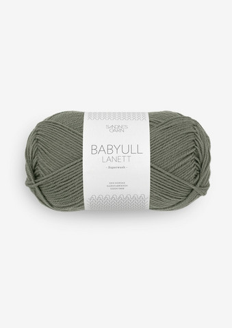 Sandnes Babyvilla Lanett, sumuinen oliivinvihreä 9071