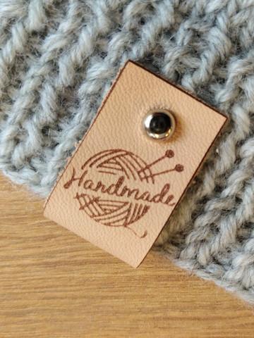 Lädermärke Handmade