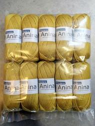 Löytönurkka: Filcolana Anina 10 kpl, vaalea sinappi 332